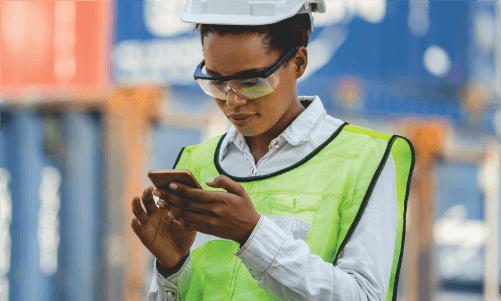 shipping industry employee app